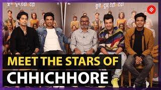 Chhichhore Cast Interview   Sushant Singh Rajput   Sharaddha Kapoor   Nitesh Tiwari