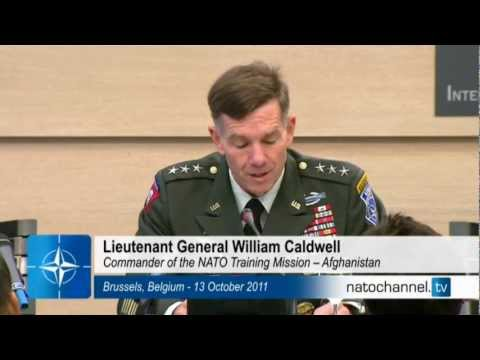 Press briefing by the Commander of NATO Training Mission - Afghanistan (NTM-A) Part 1/2