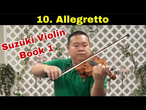 Allegretto | Suzuki Violin Book 1