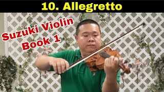 Suzuki Violin Book 1 - 10. Allegretto
