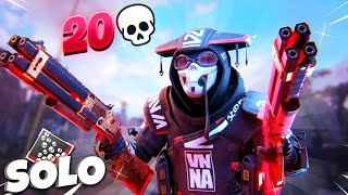 SOLO SHOTGUN ONLY 20 BOMB WITH BLOODHOUND  Apex Legends