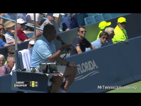 Carlos Bernades lays down the law!  Owns fans @ Cincinnati Masters 2015