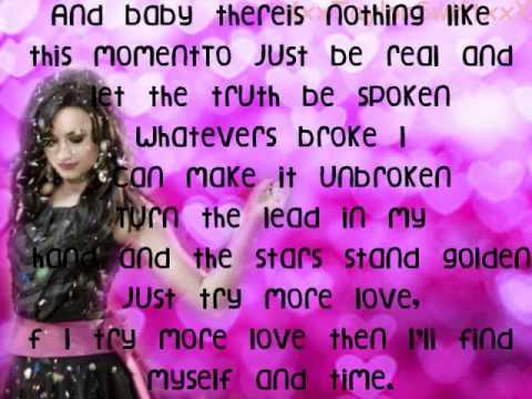 Me, Myself, And Time -Demi Lovato Lyrics