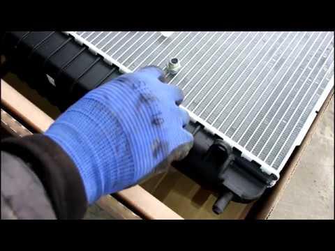 Замена радиатора и термостата  2часть  Chevrolet TrailBlazer Шевроле Трейлблейзер 4,2