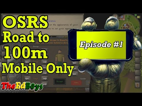 What to do after the Bond? - OSRS Road to 100m Mobile Only #1