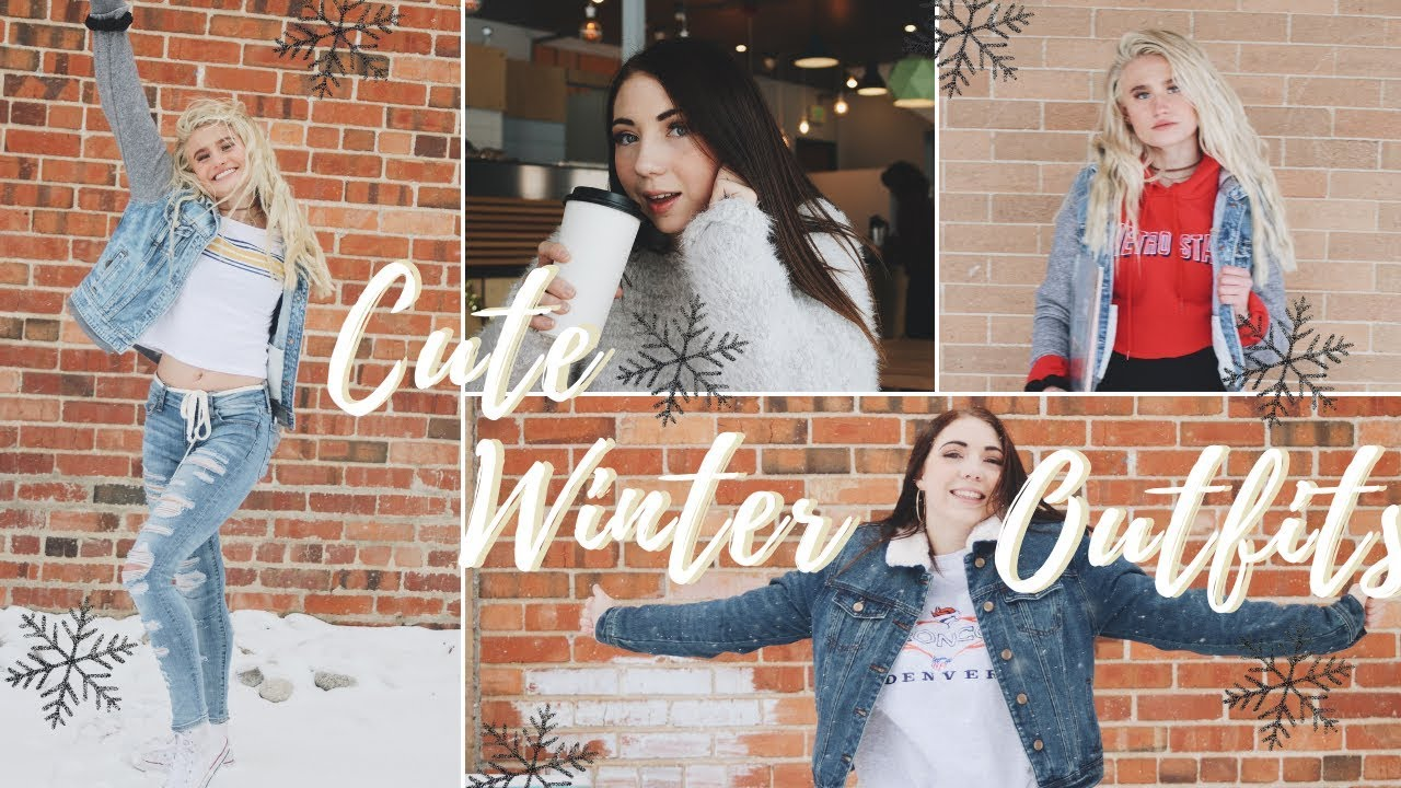 8 Cute Winter Outfits: BE WARM, COZY AND CUTE!