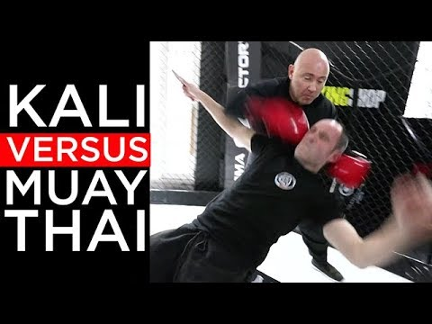 Kali VS Boxe Thai