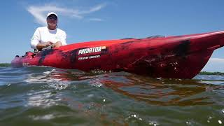 The Predator MK represents an innovation that allows paddlers to go...