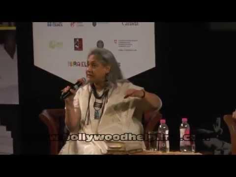 Jaya Bachchan In A Conversation With Siddharth Sanghvi At Tata Literature Live
