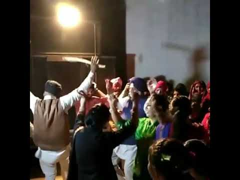 Group Dancing in marriage