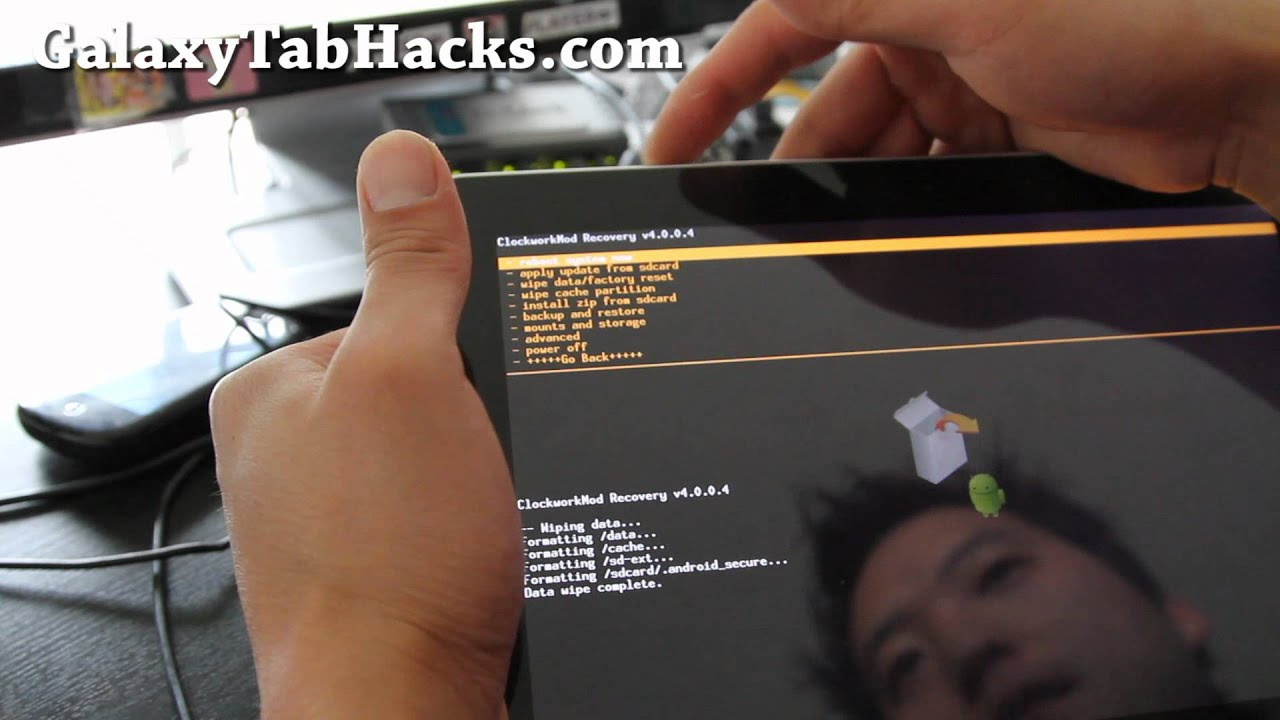 How to Install New ROM on Galaxy Tab 10 1! | Galaxy Tab Hacks!