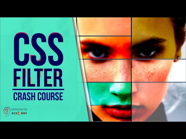 CSS Filter Crash Course | Backdrop Filter | CSS Grid | Project Based learning