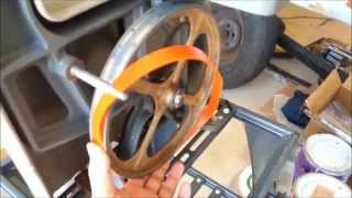 How To Replace Band Saw Tires