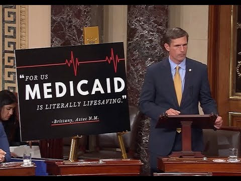 Heinrich Delivers Floor Speech On Damaging Impact TrumpCare Will Have In New Mexico