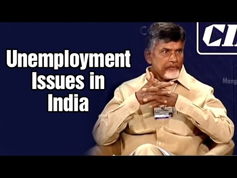 Chandrababu Naidu gives solution to unemployment problem in India at World Economic Forum