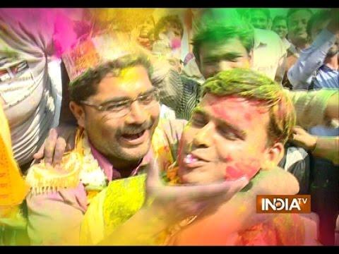 Holi 2015: India Celebrates Festival of Colours - India TV