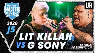 LIT KILLAH vs G SONY (Batalla de Exhibición) | #FMSARGENTINA 2020 - Jornada 5 | Urban Roosters
