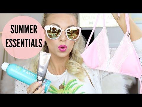 summer-essentials-|-makeup,-hair-&-body