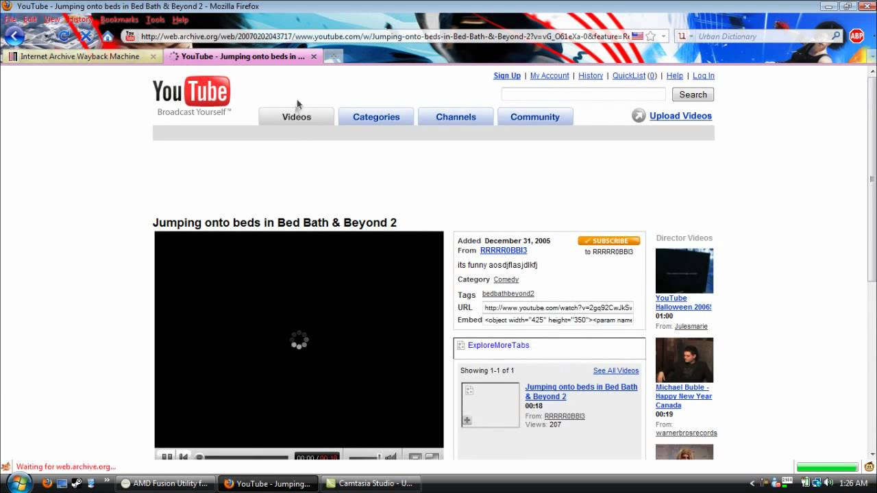 Youtube Time Capsule 2005 - 2010 - YouTube