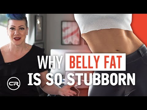 How to Flatten Your Belly Without Exercise (+ Why Belly Fat Is So Stubborn)