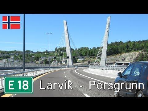 Norway: E18 Larvik - Porsgrunn
