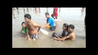 Romantic Couples are Enjoying in Digha Beach, West bengal (India)