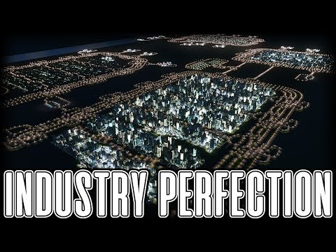 INDUSTRIAL CITY 20/20 - Cities Skylines PC Gameplay Episode 20