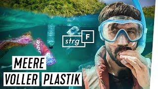 Plastikmüll von Nestlé und Co. - Suche im Meer | STRG_F