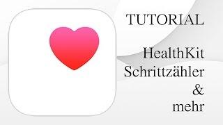 iOS TUTORIAL: HEALTHKIT Notfallpass Schrittzähler & mehr