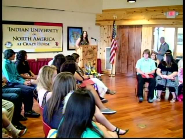 Indian University of North America Summer Program Completion Ceremony 2013 at Crazy Horse Memorial