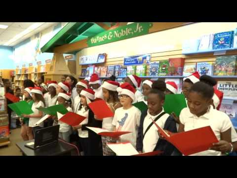 "Coral Springs Elementary School Chorus sings their own ""Holiday Medley"""