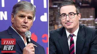 Sean Hannity Blasts John Oliver Over Criticism of Fox News' Coverage of Portland Protests | THR News