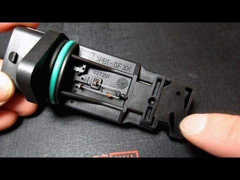 DIY: Replace an Air Mass Sensor and Air Filter on a Porsche Boxster P0102 Error | BeatTheBush