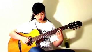 Yêu Xa (Cover Virginia Nguyen - Bé Mẫn) Guitar Solo