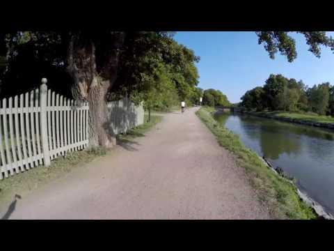Virtual Run Djurgården Stockholm Sweden 4k