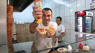 This funny guy makes doner very fast! You must watch it!