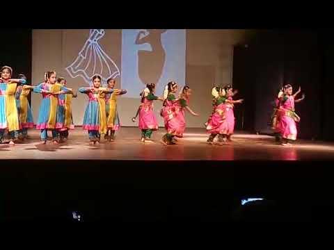 Bharathanatyam and Kathak Fusion - Pop Thillana - CloseUp