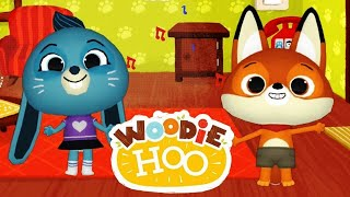 Fun Preschool Educational App - WoodieHoo Animal Friends World - Discover the island of WoodieHoo.