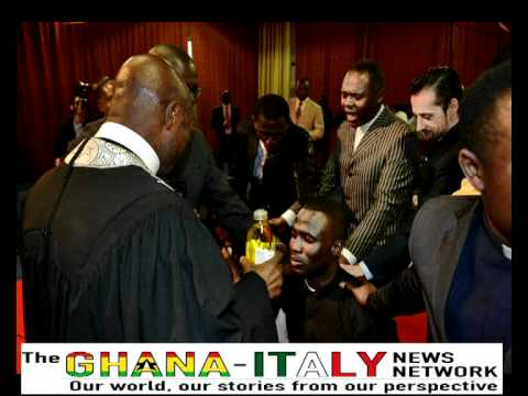 THE GHANA ITALY NEWS BROADCAST - JUNE 2012