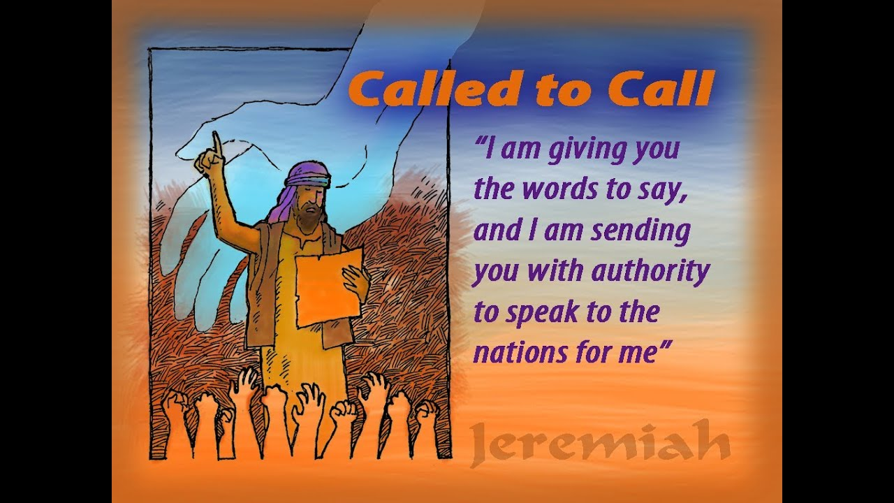 Image result for The call of Jeremiah