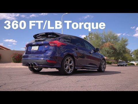 Launching My Focus ST in Normal, Sport, and Track Mode HD Exhaust Sound