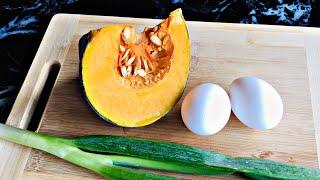 TRY MO ITO! BREAKFAST niyo bukas! Kalabasa, Egg & Cornbeef Recipe, Sobrang Sarap. 15 min. recipe