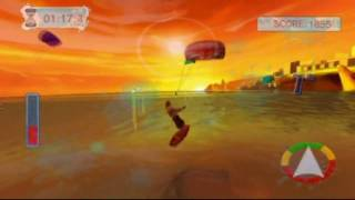 Water Sports (Wii) Kite surfing gameplay