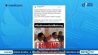 Tuding Jokowi soal Freeport, #SudirmanSaidBohong Jadi Trending Topic di Twitter