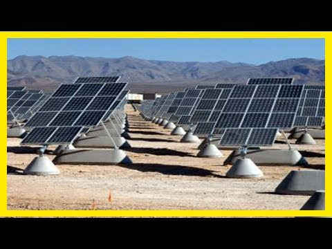Breaking News | Solar-wind power projects importance to afghanistan