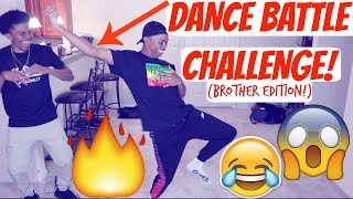 DANCE BATTLE W/ BROTHER CHALLENGE!!😈 || MERCH NOW Available!! (Watch This!) thumbnail