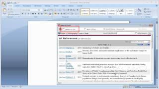1.6 باستخدام الكتابة-N-الاستشهاد الثالث لإدارة الاستشهادات إنشاء الفهارس في Microsoft Word