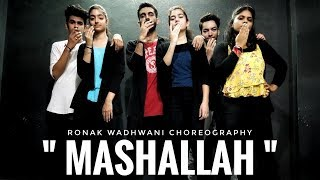 Mashallah Ravneet Singh Gima Ashi Ronak Wadhwani Choreography Bollywood Dance New Song 2019