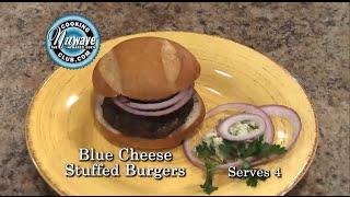 Blue Cheese Stuffed Burgers