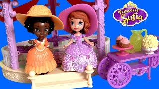 Sofia the First Royal Playdate How-To Sofia's Magical Talking Castle Playset Disney Princess Dolls